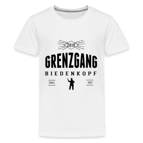 Grenzgang Biedenkopf Wettlaeufer - Teenager Premium T-Shirt