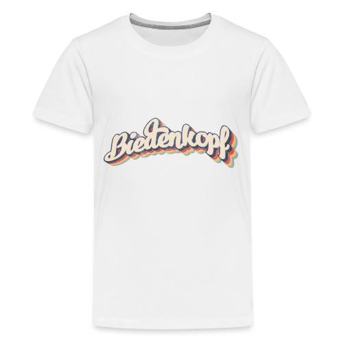 Biedenkopf Retro Grenzgang - Teenager Premium T-Shirt