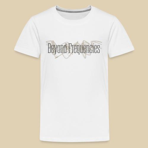 BF Waves Classic Design White - Teenager Premium T-Shirt
