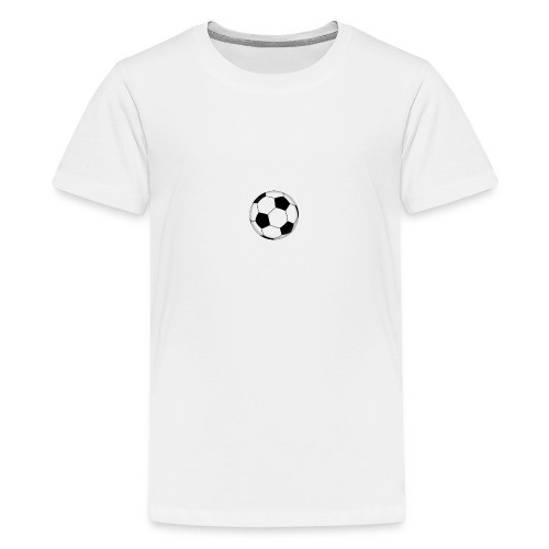 voetbal - Teenager Premium T-shirt