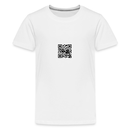 QR Code - Teenager Premium T-Shirt