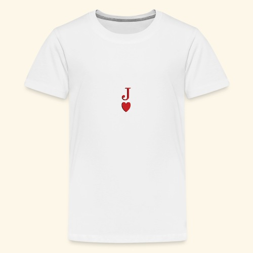 Valet de trèfle - Jack of Heart - Reveal - T-shirt Premium Ado