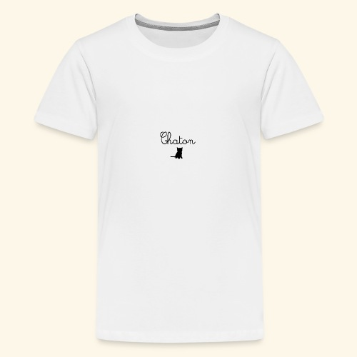 Chaton - T-shirt Premium Ado