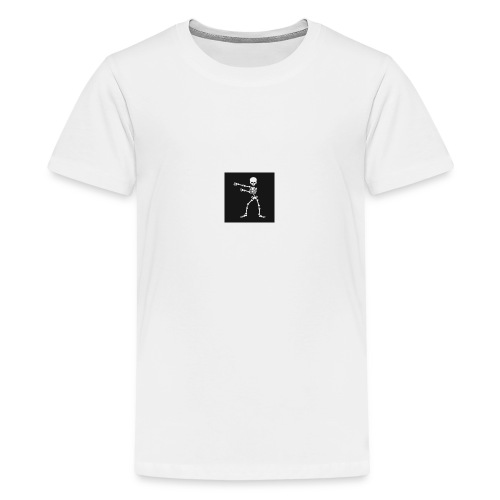 Skelton edition floss - Teenage Premium T-Shirt