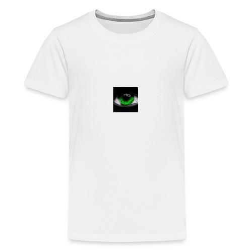 Green eye - Teenage Premium T-Shirt