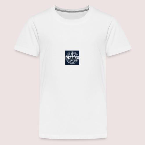 Gamer Logo - Teenager Premium T-Shirt