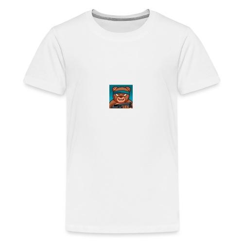 teddy - Premium T-skjorte for tenåringer