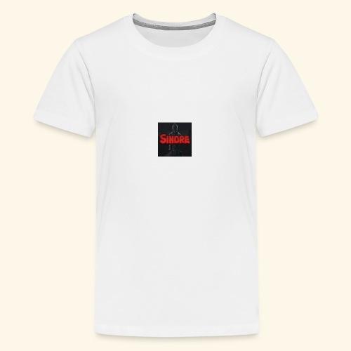 den nyeste logoen min - Premium T-skjorte for tenåringer