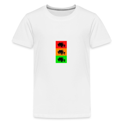 Retro Land-Rover - Teenage Premium T-Shirt