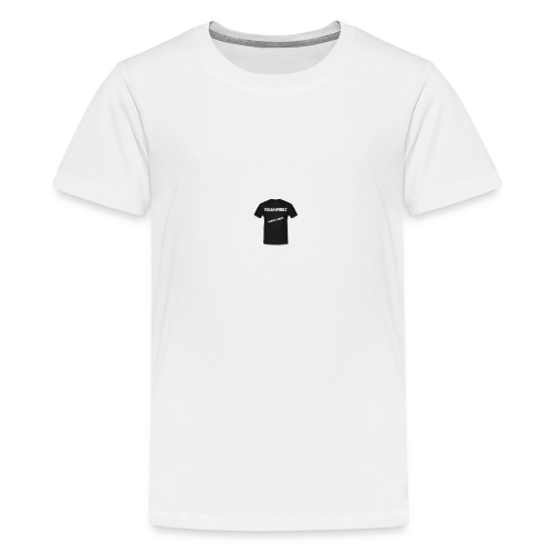 t-shirt-png - Teenager Premium T-shirt