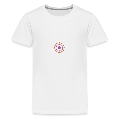 Antioxidants Logo T-Shirt - Teenage Premium T-Shirt