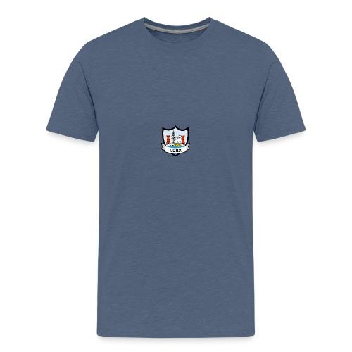 Cork - Eire Apparel - Teenage Premium T-Shirt