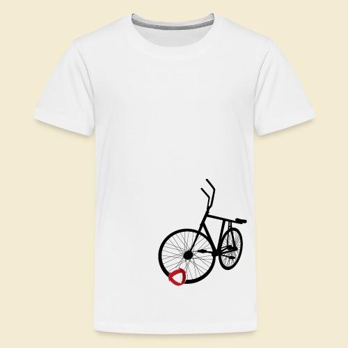 Radball   Black - Teenager Premium T-Shirt