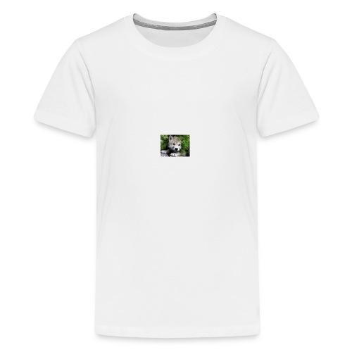 Predator Wolf - Teenage Premium T-Shirt