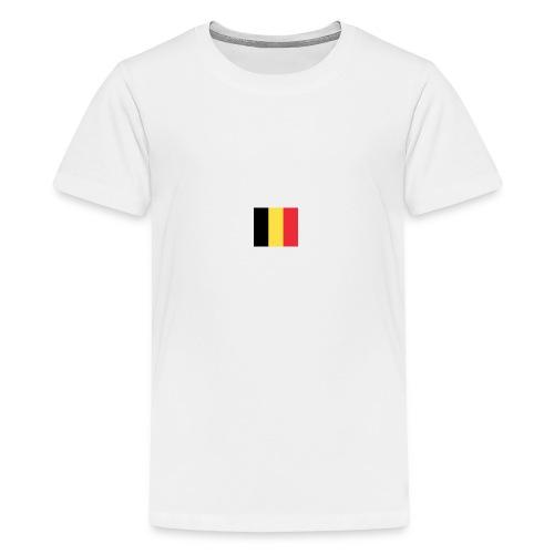 vlag be - Teenager Premium T-shirt