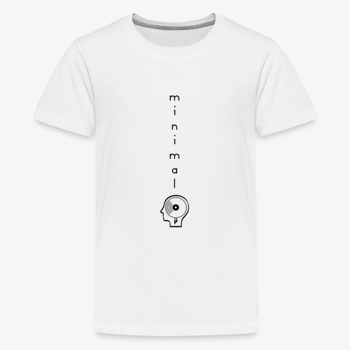 Minimal Labor Ost Logo vertikal - Teenager Premium T-Shirt