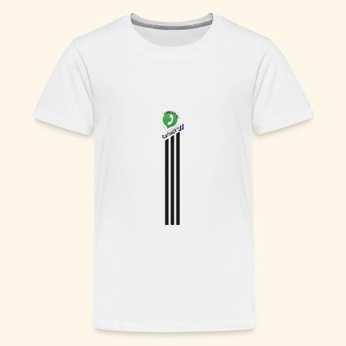 logo strepen - Teenager Premium T-shirt