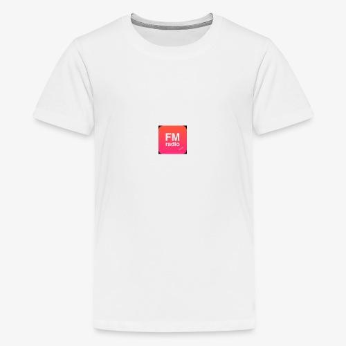 logo radiofm93 - Teenager Premium T-shirt