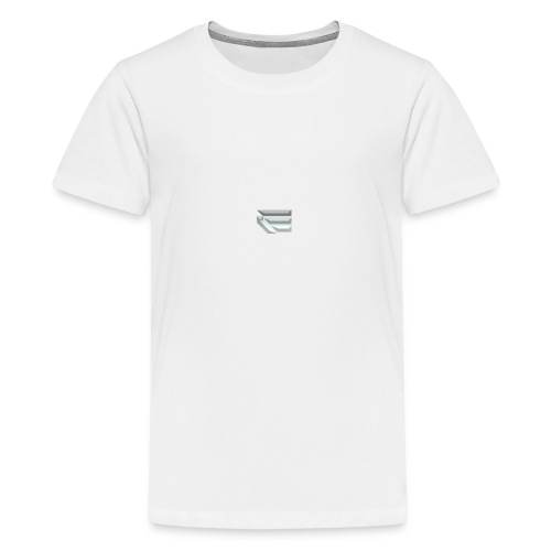 Edmondson's YouTube Logo - Teenage Premium T-Shirt