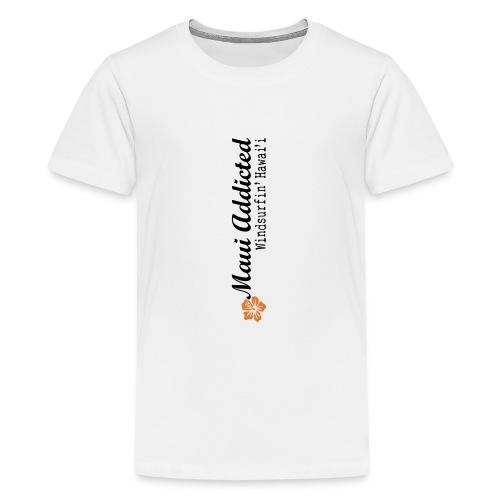 MAddLogoVert ai - Teenage Premium T-Shirt