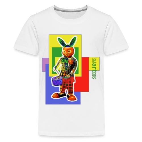 smARTkids - Slammin' Rabbit - Teenage Premium T-Shirt