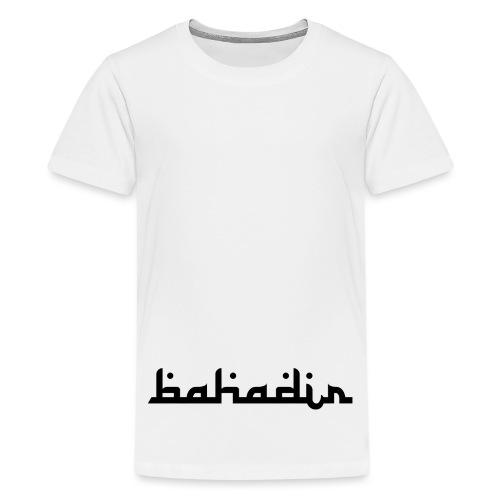 bahadir logo1 png - Teenager Premium T-Shirt