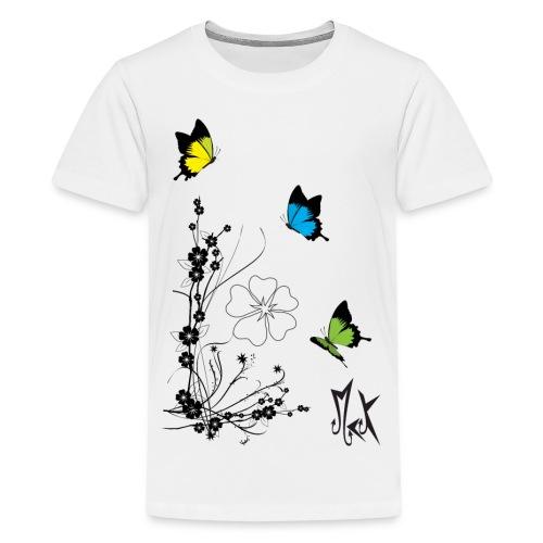 Butterflies McKoy - Camiseta premium adolescente