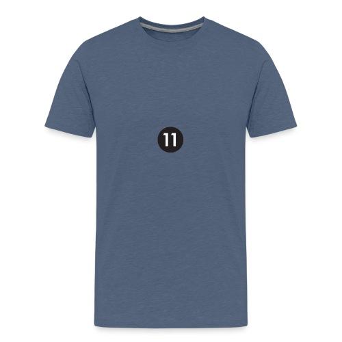 11 ball - Teenage Premium T-Shirt