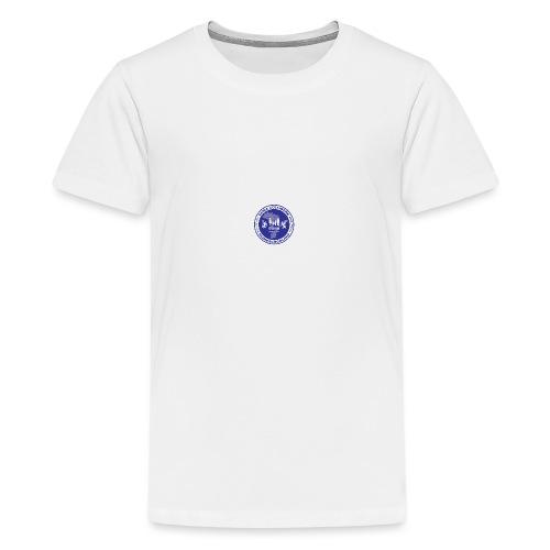 Duna Colligere Blue - Premium T-skjorte for tenåringer