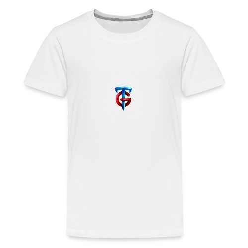 tg logo png - Teenage Premium T-Shirt