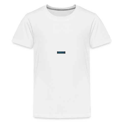 GREEZY MERCH LOGO - Teenage Premium T-Shirt