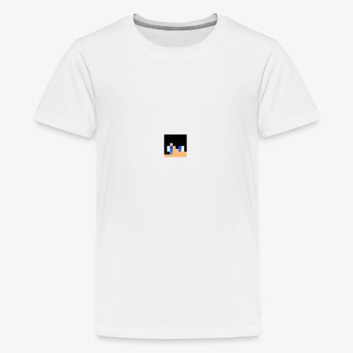 JK Gaming's Minecraft Head - Teenage Premium T-Shirt