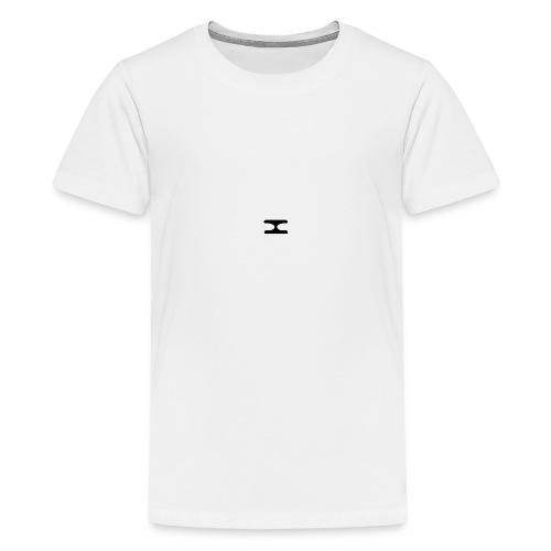 X Logo Transparent - Teenage Premium T-Shirt