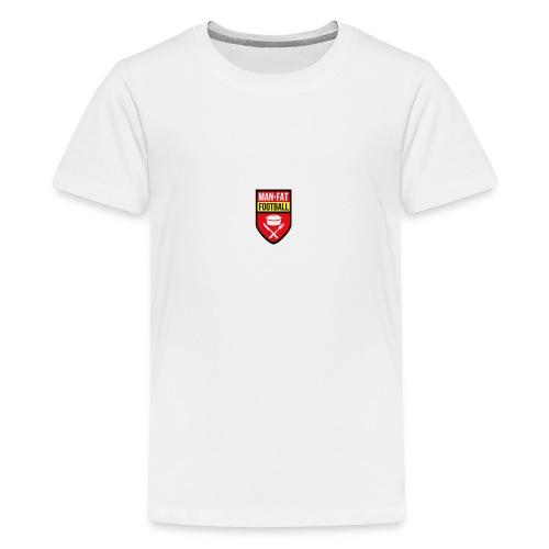 ManvFat FC Badge png - Teenage Premium T-Shirt