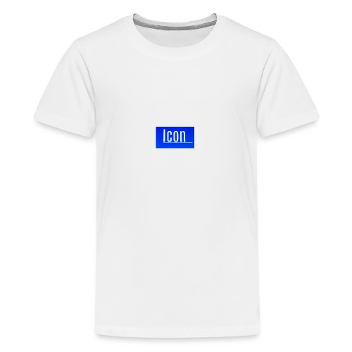 Icon kids small logo tshirt - Teenage Premium T-Shirt
