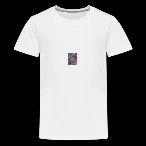 smoke-weed - T-shirt Premium Ado