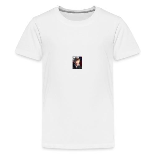 300 - Premium T-skjorte for tenåringer