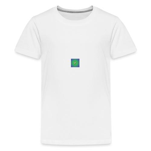 p for pologum - Premium T-skjorte for tenåringer