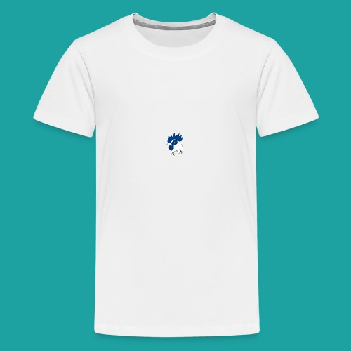 tee-shirt coqbleu bleu clair - T-shirt Premium Ado
