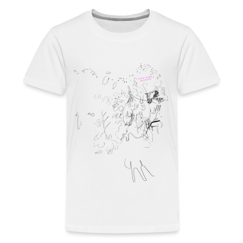 Mother Tongue and Physics - Teenager Premium T-Shirt