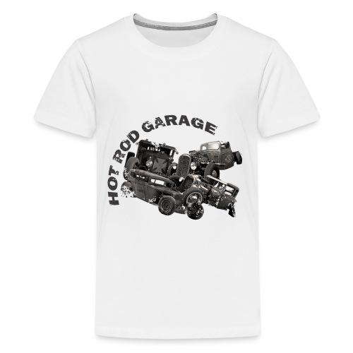 Hot Rod Garage 1 - T-shirt Premium Ado