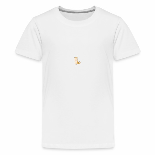 Akita Yuki Logo - Teenage Premium T-Shirt