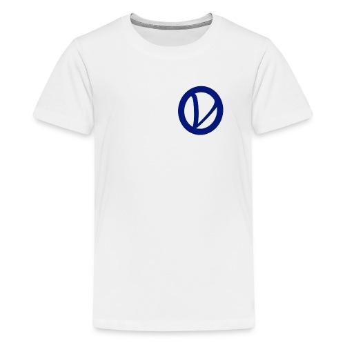01logo png - Premium-T-shirt tonåring