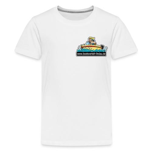 bootsverleih lindau - Teenager Premium T-Shirt