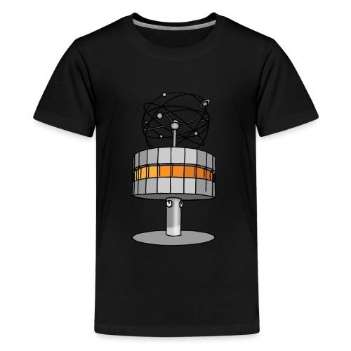 Weltzeituhr BERLIN c - Teenager Premium T-Shirt