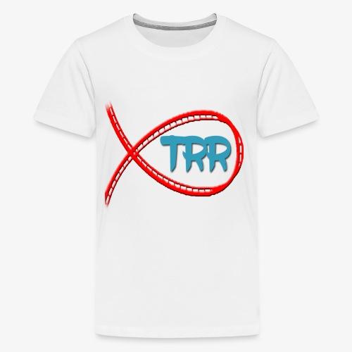 trr logo proper - Teenage Premium T-Shirt
