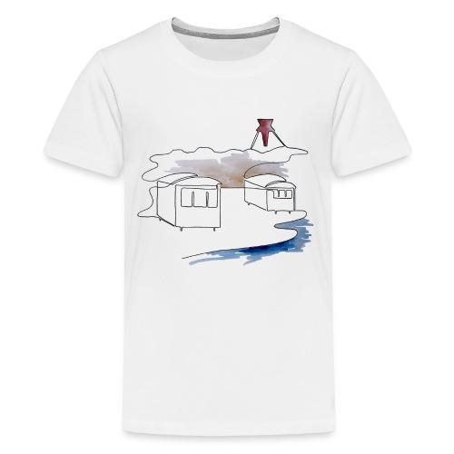 Blokhus 1 - Teenager premium T-shirt