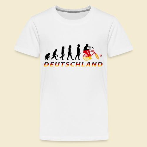 Radball   Evolution Deutschland - Teenager Premium T-Shirt
