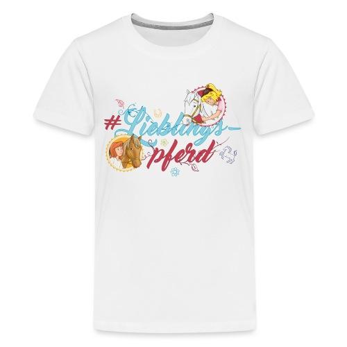 Bibi und Tina 'Lieblingspferd' - Teenager Premium T-Shirt