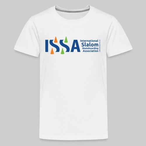 Issa New logo - Teenage Premium T-Shirt